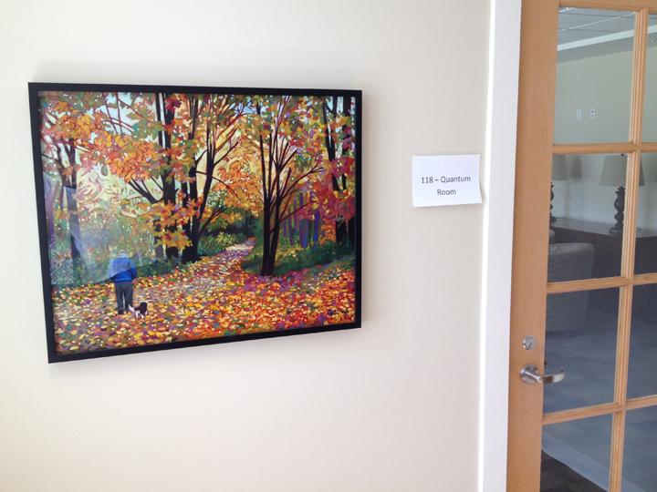 wall- autumn piece
