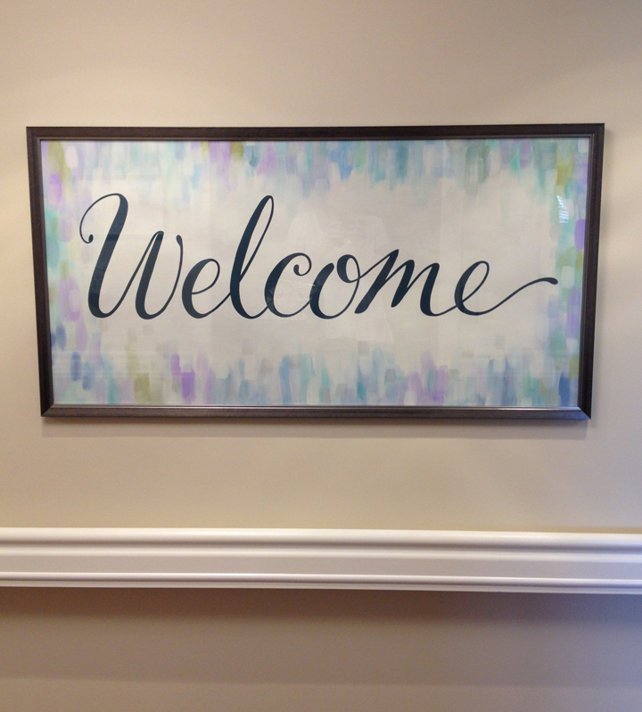 welcome- wall