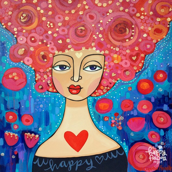 happyfriday- happy-heart-girl