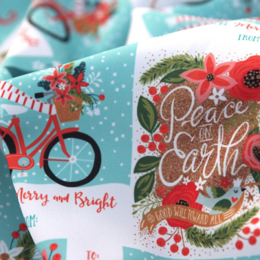 Gift Tags design challenge at Spoonflower, 1st Place finish!
