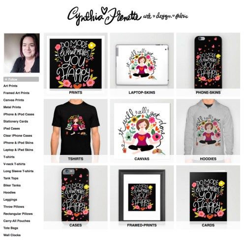 New shop on Society 6!