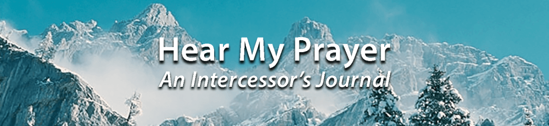 Hear My Prayer header
