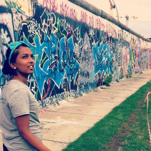 Berlin Wall- ThinkPeace Workshop for Girls