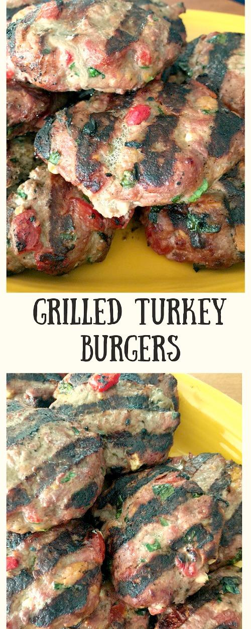 Grilled TurkeyBurgers