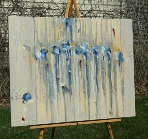 Celebration of Wishes on the easel