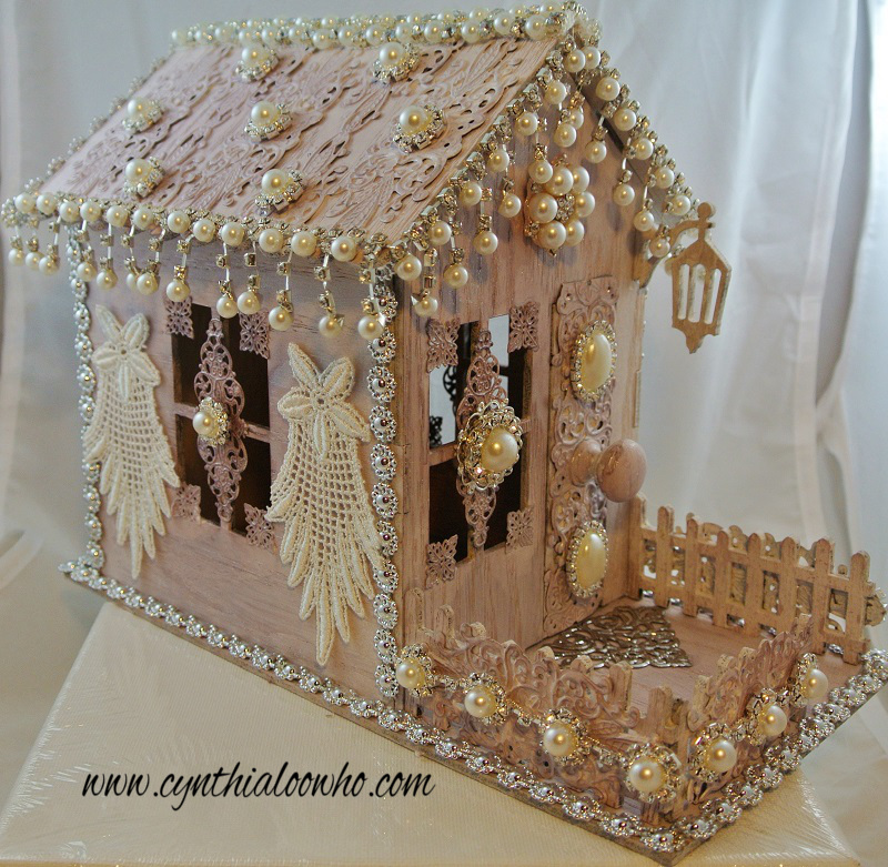 Outdoor wooden gingerbread house Plans DIY How to Make  resolute93bgx
