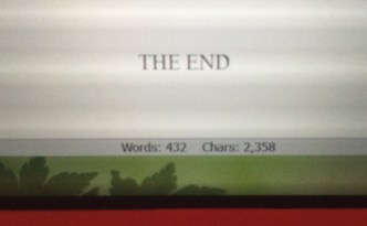First Draft Complete