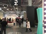 People enjoying the AD Design Show inside the Javits Center in NYC 2019
