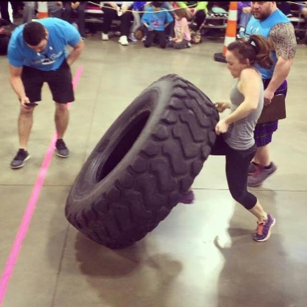Competition Tire Flip