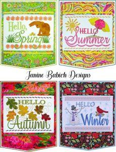 #549 Embroidery with Janine Babich @ Cynthias Fine Fabrics