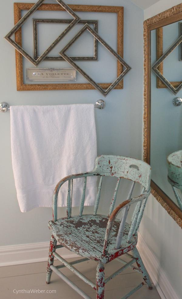 Client Diaries Jess  Brad Vintage Glam Bathroom Reveal