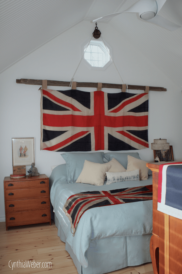 Client Diaries Jess  Brad Union Jack Master Bedroom