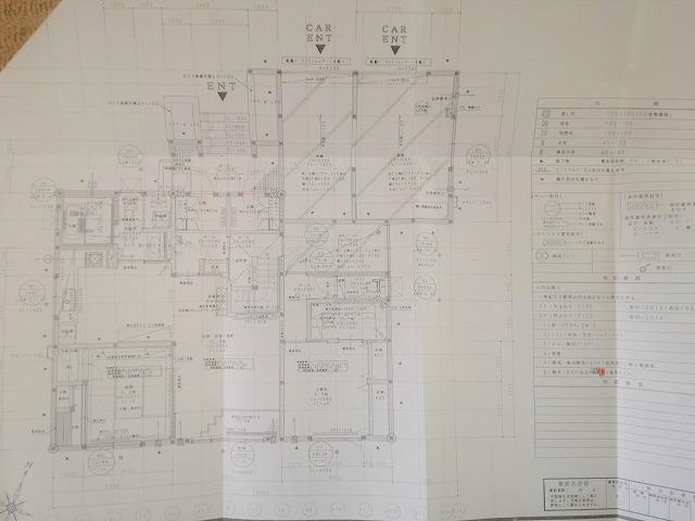 最終的な図面1階部分