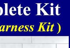 2011 2012 KIA PICANTO Fog Light plete kit(Wiring harness kit)One Button Switch