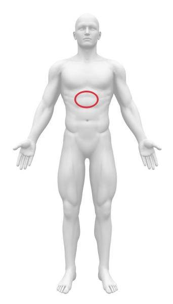 十二指腸潰瘍 みぞおち 心窩部