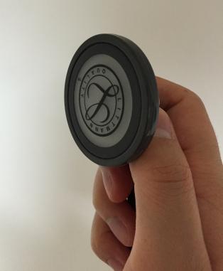 聴診器使い方膜型サスペンデッドダイヤフラム