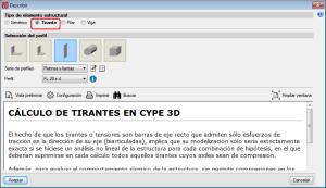 Nuevo Metal 3D. Tirantes