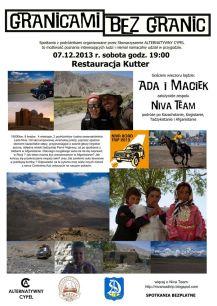2013 Granicami bez Granic Ada i Maciek