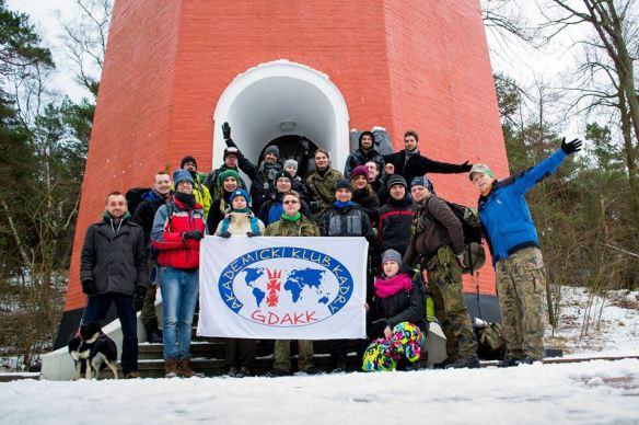 """2016.01.16 - Spotkanie z AKK GDAKK """"Helskie obiekty militarne"""""""