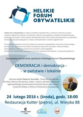 2016.02.24 - Helskie Forum Obywatelskie
