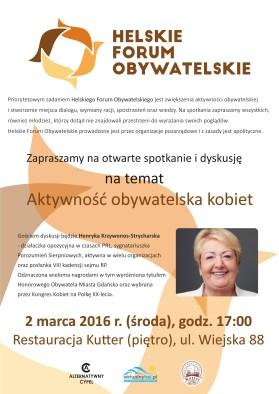 2016.03.02 - Helskie Forum Obywatelskie