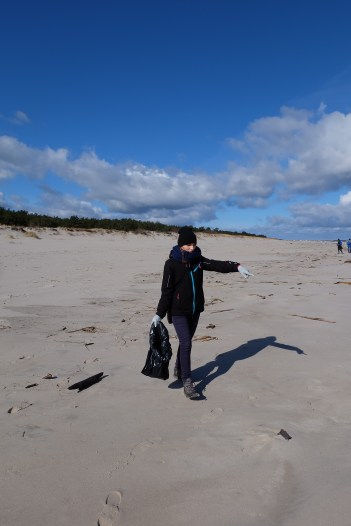 2016.03.19 - Ogarnij plażę na wiosnę. Kierowanie ruchem.