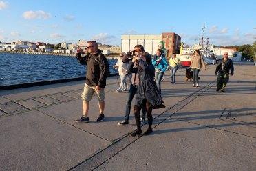 2016.07.07 - Spacer z Przewodnikiem, port w Helu