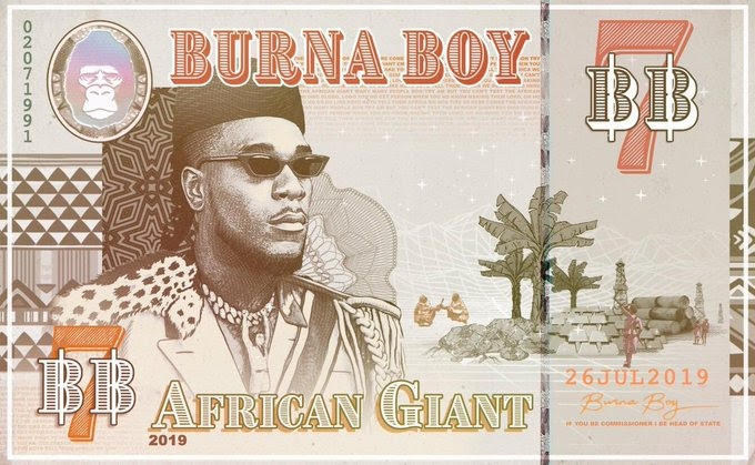 "Burna Boy Announces 7th Body Of Work: ""African Giant"""