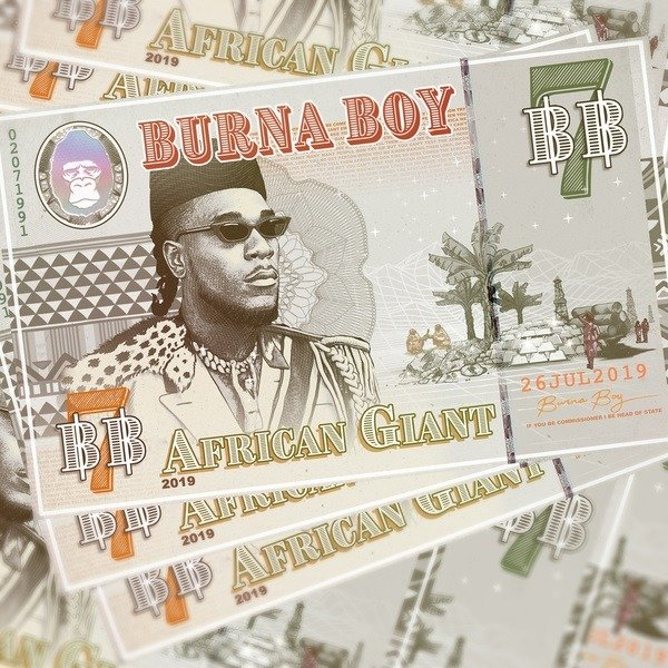 CYPHER9JA.COM Burna-Boy-Collateral-Damage Burna Boy's 'African Giant' album has reached number one on Apple Music in more than 10 countries ENTERTAINMENT