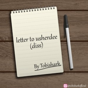 [DISS REPLY] Tobi shark Letter to usherdee