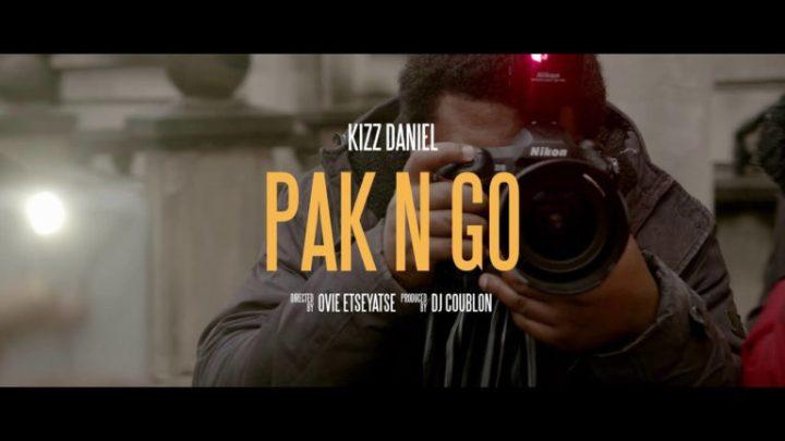 Kizz Daniel – Pak 'n' Go (Video Teaser)