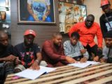 "Davido Signs New Artiste ""Lil Frosh"" Into DMW Record Label"