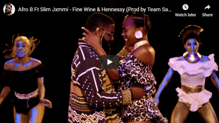 (VIDEO) Afro B – Fine Wine and Hennessy ft. Slim Jxmmi