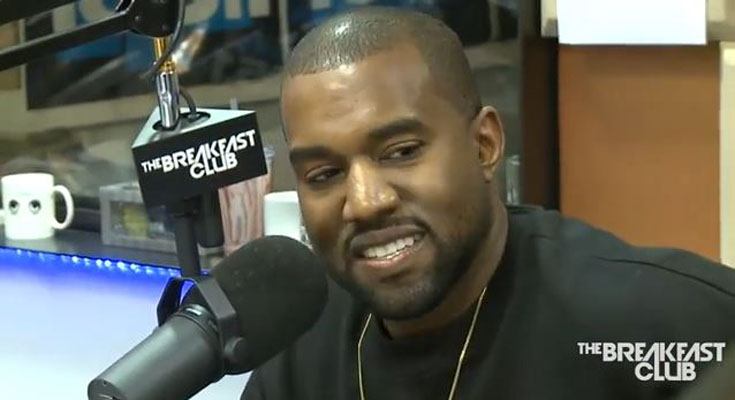 Kanye West Gets Challenged in Breakfast Club Interview