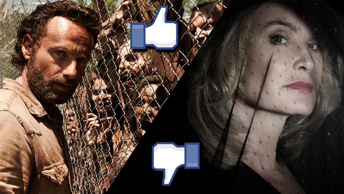 """American Horror Story"" Tanks as ""The Walking Dead"" Finally Resurrects"