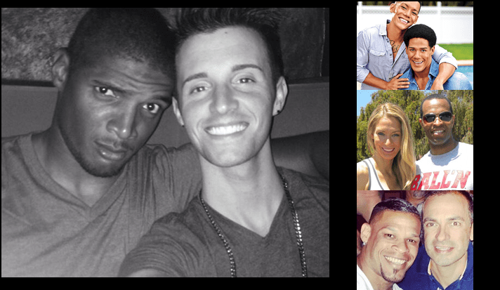 Black Gay Athletes and Interracial Relationships
