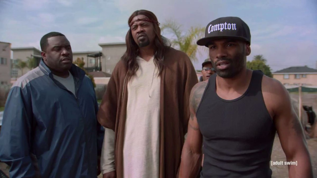 "WATCH: Trailer for The Boondocks Creator's New Show ""Black Jesus"""