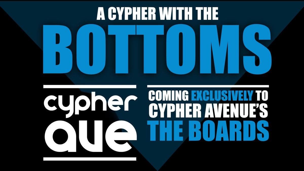 Bottoms Roundtable Podcast! Coming To Cypher Avenue's The Boards!