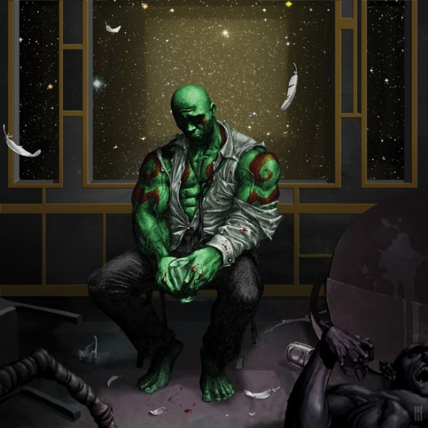 Drax /Kid Cudi's Man on the Moon II: The Legend of Mr. Rager