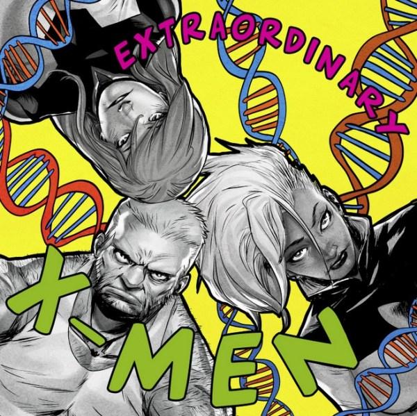 Extraordinary X-Men /De La Soul's 3 Feet High and Rising; Shawn Crystal
