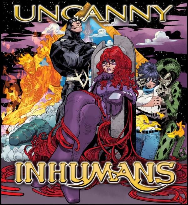 Uncanny Inhumans /Outkast's Aquemini