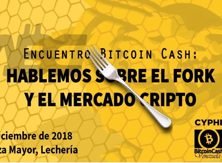 Evento en Venezuela: Hablemos sobre el fork y el mercado cripto