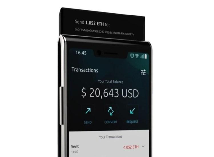 Finney: el primer teléfono dedicado a criptomonedas anuncia su lanzamiento comercial