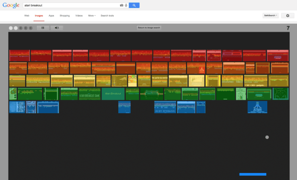 Play Google Atari Breakout Game