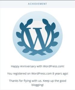 8 years at WP