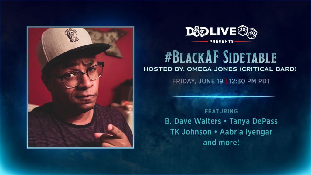 BlackAF Sidetable
