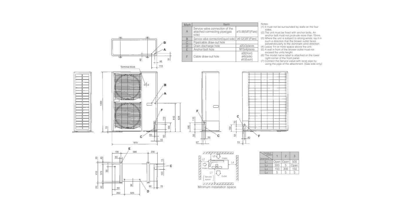 chillers piping schematics