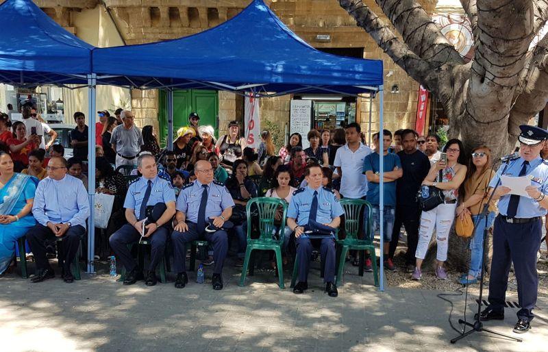 Policja zorganizowała imprezę dla obcokrajowców