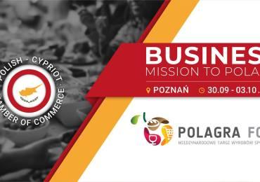 Pierwsza misja handlowa do Polski Polsko-Cypryjskiej Izby Gospodarczej