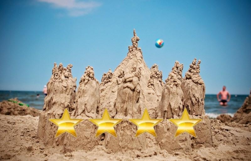 Plaże będą dostawały gwiazdki?